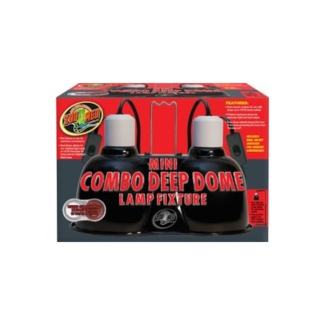 Mini Combo Deep Dome Lamp Fixture