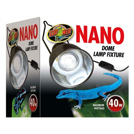 Nano Dome Lamp Fixture (Zoo Med)