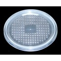 """Deli Cup Lids - Waffle Vented - 4.5"""""""