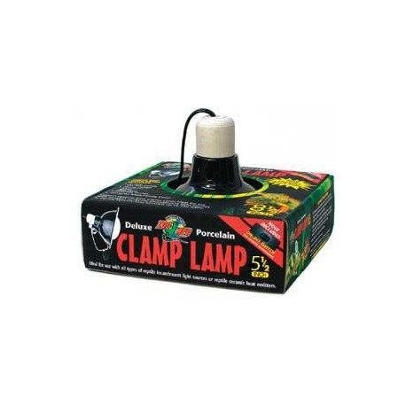 Zoo Med 5 1 2 Quot Deluxe Porcelain Clamp Lamp