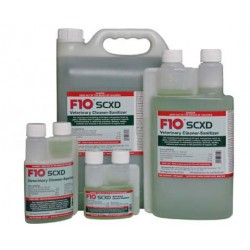 F10SCXD Veterinary Cleaner-Sanitizer - 1 Liter