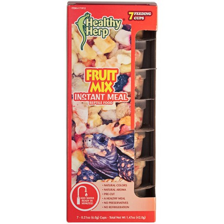 Fruit Mix Instant Meal - 7 Pack (Healthy Herp)