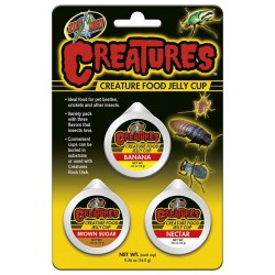 Creatures Food Jelly Cup (Zoo Med)