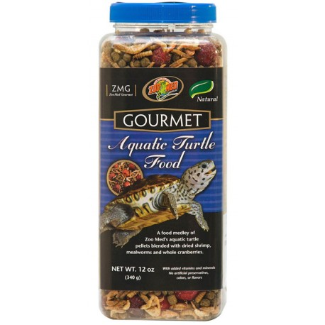 Gourmet Aquatic Turtle Food - 12 oz (Zoo Med)