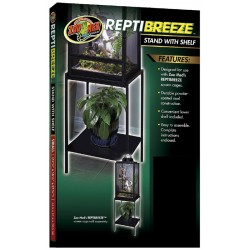 Zoo Med Reptibreeze Stand W Shelf