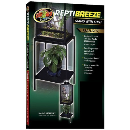 Zoo Med Reptibreeze Stand W Shelf