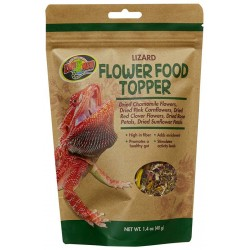 Flower Food Topper - Lizard - 1.4 oz (Zoo Med)
