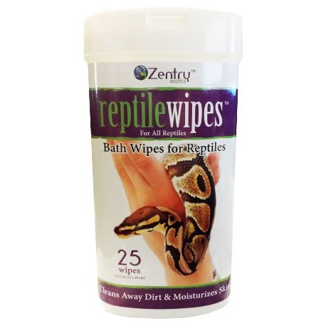 Reptile Wipes (Zentry Works)