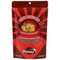 Pangea Gecko Diet w/ Insects (2 oz)