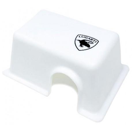 Reptile Hide Box - White - SM (Lugarti)