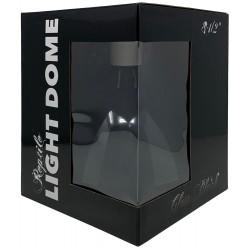 """Reptile Light Dome - Gloss Black - 8 1/2"""" (Lugarti)"""
