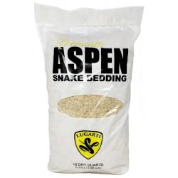 Premium Aspen Snake Bedding - 10 qt (Lugarti)
