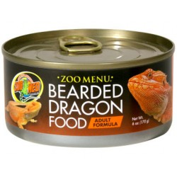 Bearded Dragon Food - Adult - 6oz Can (Zoo Med)