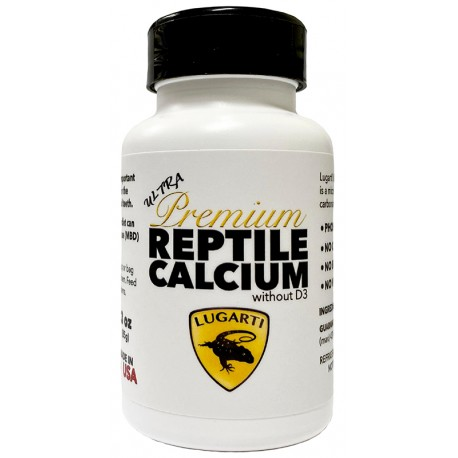 Ultra Premium Reptile Calcium - without D3 (Lugarti)