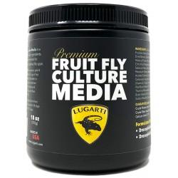 Premium Fruit Fly Culture Media - 18 oz (Lugarti)