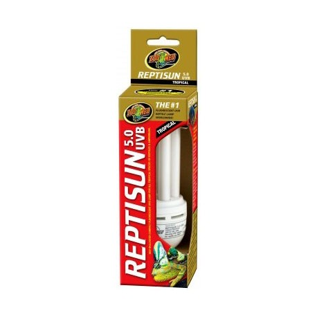 ReptiSun 5.0 UVB Compact Fluorescent (Zoo Med)