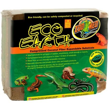 Eco Earth - 3 Brick (Zoo Med)