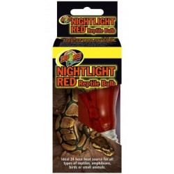 Nightlight Red Bulb - 100w (Zoo Med)