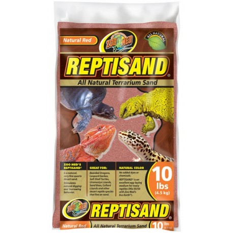 ReptiSand - Natural Red - 10 lbs (Zoo Med)