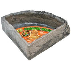 Corner Water Bowl - LG (Zoo Med)